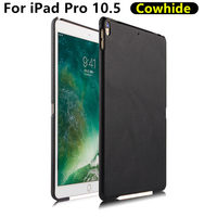 Case Cowhide For IPad Pro 10 5 Inch New 2017 Protective Shell Cover Genuine Leather Tablet