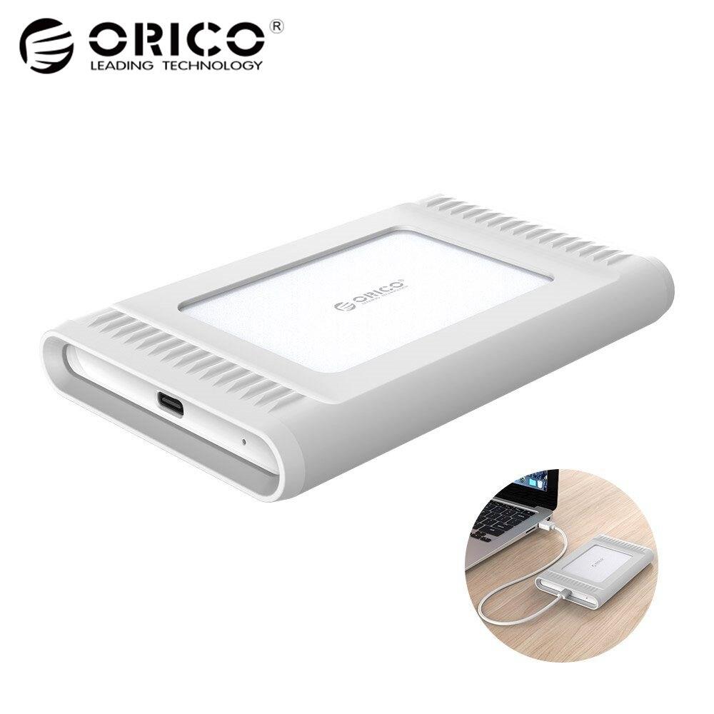 ORICO 2.5 inch 1TB USB3.1 Gen2 TYPE C 10Gbps External Hard Drive HDD Desktop Laptop Mobile Hard Disk Outdoor Silver