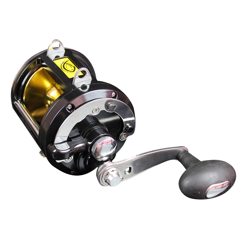 CGDS 55LB power trolling reel super strong boat fishing jigging reel 8 BB Gear ratio 3.4:1 big game saltwater sea fishing reel 1 65m 1 8m high carbon jigging rod 150 250g boat trolling fishing rod big game rods full metal reel seat sic guides eva handle