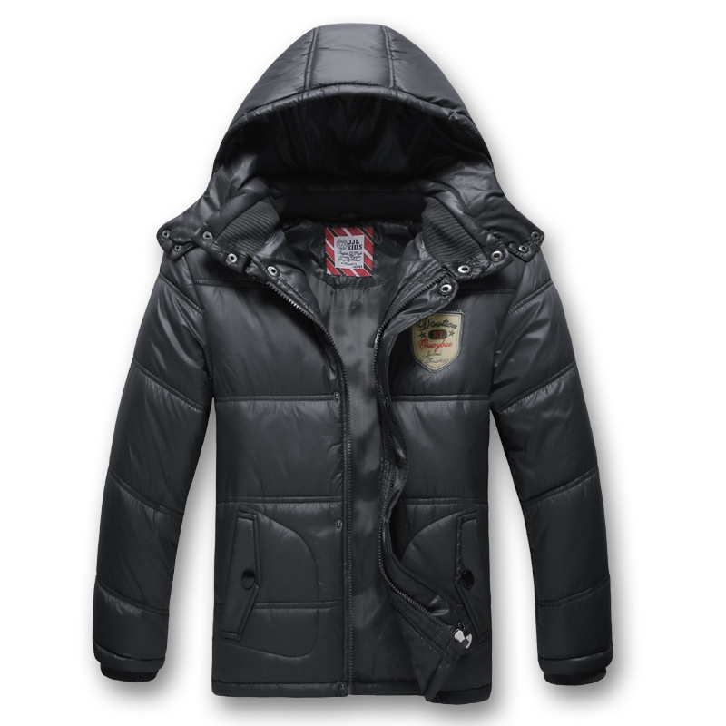 Image 2 - Children Outerwear Warm Coat Sporty Kids Clothes Waterproof Windproof Thicken Boys Girls Cotton padded Jackets Autumn and Winter-in Jackets & Coats from Mother & Kids