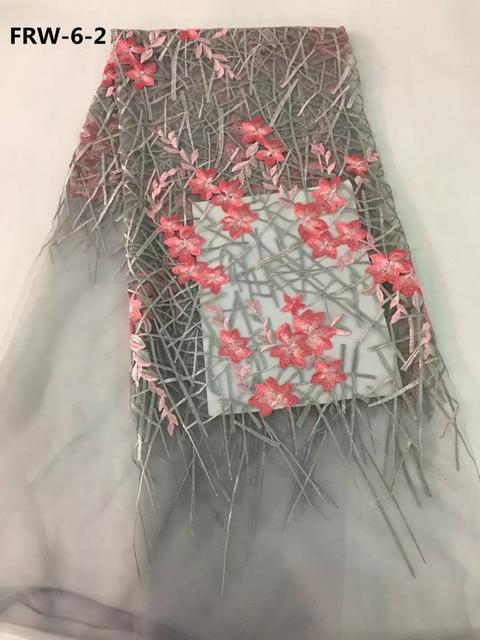 Belle Fleur Francais Dentelle Nigerian De Mariage Robe Tissu