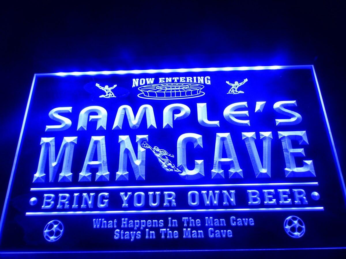 Personalize bar sign LED light custom Name sign Home Bar Beer Pub wall decor man
