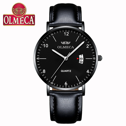 OLMECA Herenhorloges Casual Analoog Quartz Waterproof Luxe Modieus - Herenhorloges