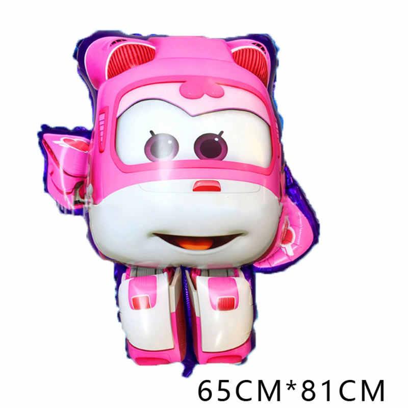 7 estilo 3D Super Asas Balão Jett 18 polegada Super Asas brinquedos balões Decorações Da Festa de Aniversário crianças brinquedos Jett globos suprimentos