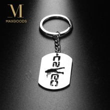 1 Pc Brand New Game CSGO Hollow Counter Strike Pendant Keychain Keyrings For Car purse bag Wholesale(China)