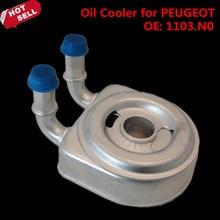 Хорошая Производительность Масляный Радиатор для PEUGEOT PARTNER 1.9D DW8 НАК 206 306 307 406 2.0 16 В OEM 1103N0 1103J2 автомобиль для укладки