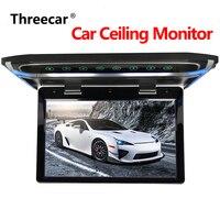 Потолочный кровельный монитор 10 1080 P lcd TFT экран Автомобильный потолочный монитор откидной вниз крыша установленный дисплей светодиодный ц