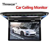 Ceiling Roof Monitor 10 1080P LCD TFT Screen Car Ceiling Monitor Flip Down Roof Mounted Display LED Digital Wide Screen Monitor