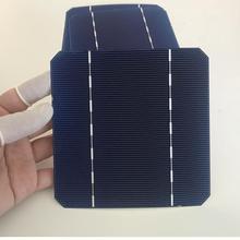 ALLMEJORES 25pcs monocrystalline solar cells 2.75W/pcs 0.5V Good quality A grade 17.6% effencicy for DIY 12V 65W solar panel
