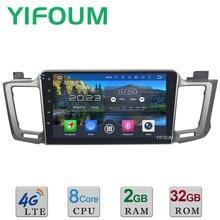 10.1″ Octa Core Android 6.0 2GB RAM 32GB ROM 4G WIFI DAB+ Car DVD Player Radio For Toyota RAV4 RAV 4 2013 2014 2015 2016 2017