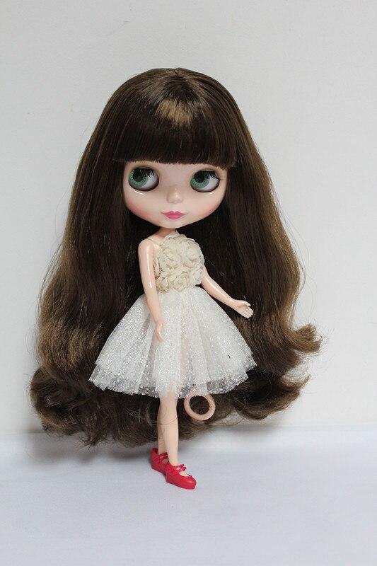 送料無料ビッグ割引RBL 45DIYヌードブライス人形誕生日ギフト用女の子4色大きな目人形で美しい髪かわいいおもちゃ  グループ上の おもちゃ & ホビー からの 人形 の中 1