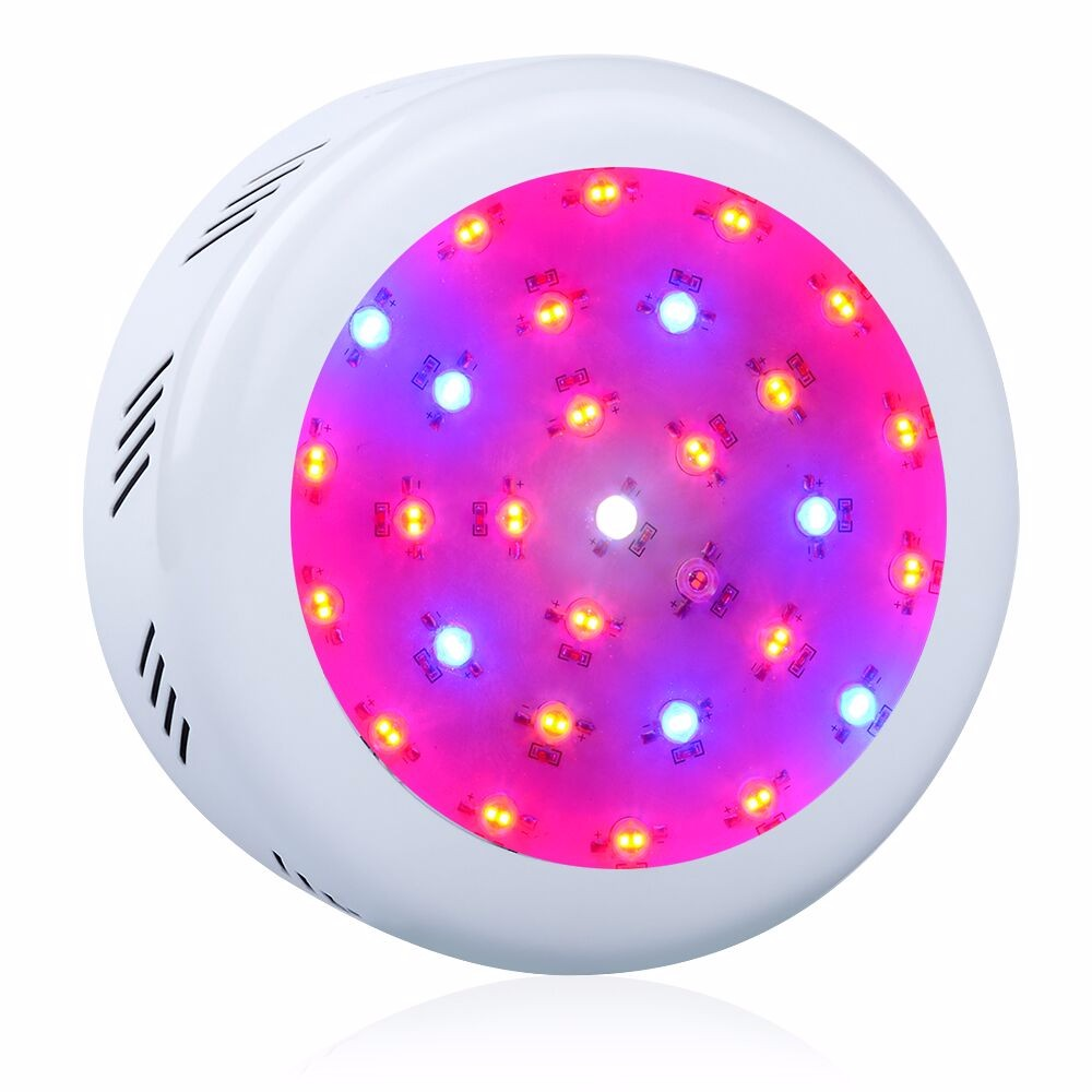 UFO II 300W Double Chip LED Grow Light Full Spectrum 410-730nm With Red/Blue/White/UV/IR Lamp Bead For Indoor Plants And Flower