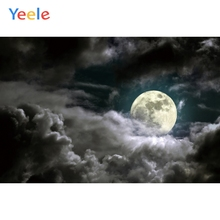 Yeele Night Moon Dark Clouds Sky Baby Room Dreamy Photography Backgrounds Customized Photographic Backdrops for Photo Studio
