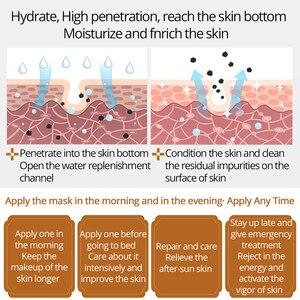 Image 4 - Meiking Hydraterende Krimpen Poriën Masker Whitening Gezichtsmasker Voor Droge Huid Anti Rimpel Verstevigende Voeden Diepe Reiniging Huidverzorging