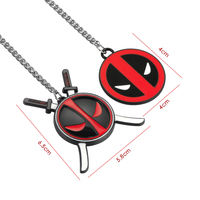 Deadpool Car Pendant Ornament (2 Different Designs) 5