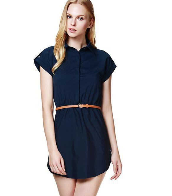 Summer dress 2017 moda mujer delgada dress sexy sólido corto sleeeve vintage dre
