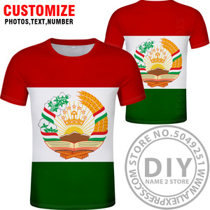 Image 5 - TAJIKISTAN t shirt diy free custom made name number tjk T Shirt nation flag tj tajik country college photo print text 0 clothing