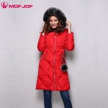 Для женщин зимняя куртка стеганая ромб с капюшоном пальто средней Длина женские Верхняя одежда Тесьма молнии помпоном Подвески thinsulate парка