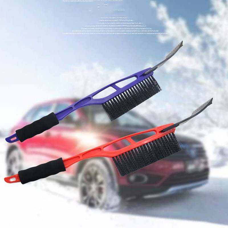 1pcs Multifunctional Car Windshield Ice Scraper Vehicle Snow Shovel Removal Brush Car Windscreen Clean Tools