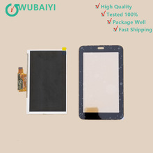 For Samsung Galaxy Tab 3 T110 T111 SM-T110 SM-T111 Touch Screen Panel Digitizer Glass Lens +LCD Display Sensor Replacement