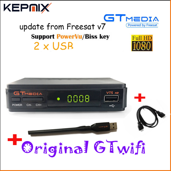 1 Year Ccam Server GTMEDIA V7S Free sat V7 wifi Satellite Receiver Spport DVB-S2 ccam PowerVu YouTube Full 1080P Europe Cline HD