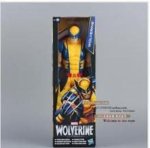 2014 Hot sale Marvel Super Hero X-men Wolverine PVC Action Figure Collectible Toy 12″30CM for children freind gift