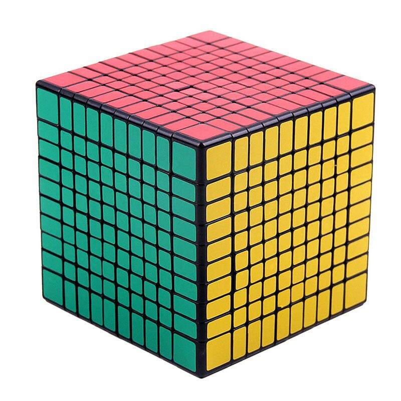 Professionnel Cube10x10x10 10 cm vitesse pour cubes magiques antistress puzzle néo Cubo Magico autocollant pour enfants jouets éducatifs pour adultes
