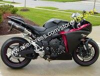 Лидер продаж, для Yamaha YZF R1 2009 2011 Запчасти YZFR1 09 10 11 YZF1000 YZF R1 Все Черный ABS мотоциклов обтекателя (литья под давлением)