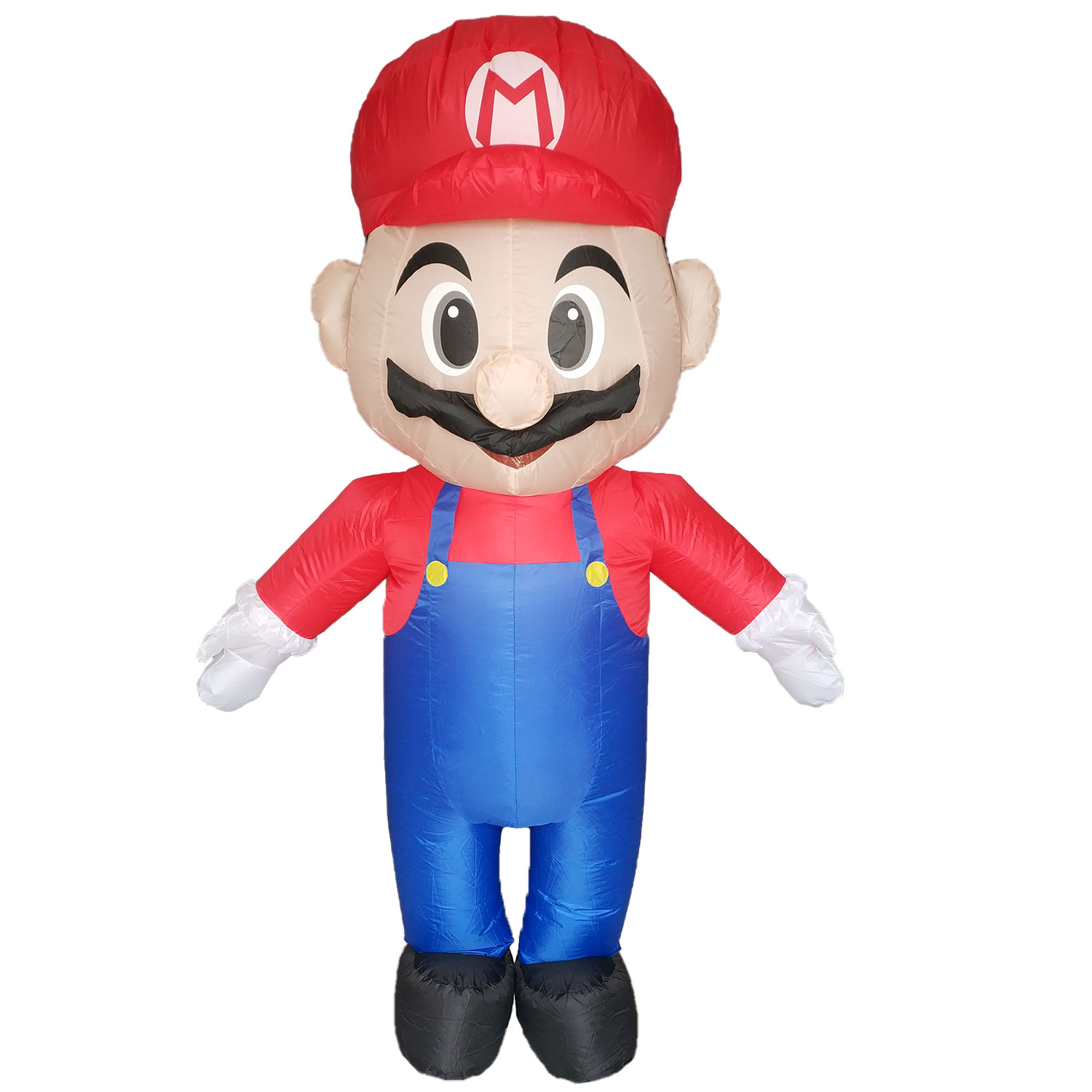 Inflatable Mario Costume Super Mario Fancy Dress For Adults Halloweeen Party  Carnival Cosplay Outfit Mascot Blow Up Suit