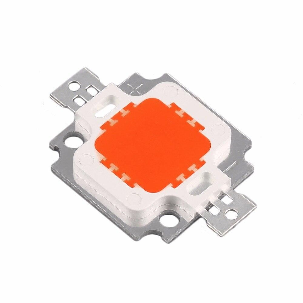 1pc 10W Red LED Chip SMD High Power LED COB Lamp Chip SMD LED Bulb Lamp Light Chip LED 140 degrees Beam Angel Energy Saving