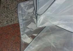 Personalizzato 2 strati 3x8 m traslucido copertura esterna, materiale impermeabile, 60% trasparente pioggia telone. serra cloth.tar p.