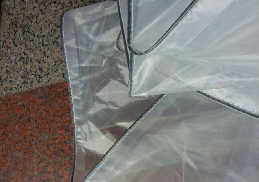 Personnalisé 2 couches 3x8 m couverture extérieure translucide, matériau imperméable, 60% bâche de pluie transparente. serre cloth.tar p.