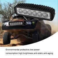18 W Flood LED Auto LED Off Road Licht Bar Werk Licht Waterdicht IP 68 Auto Boot Vrachtwagen Rijden Licht Lamp
