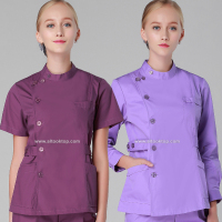 Medical Suit Women Medical Work Wear Spa Beauty Salon Thai Massage Uniform Nursing Scrub Dentist Gown
