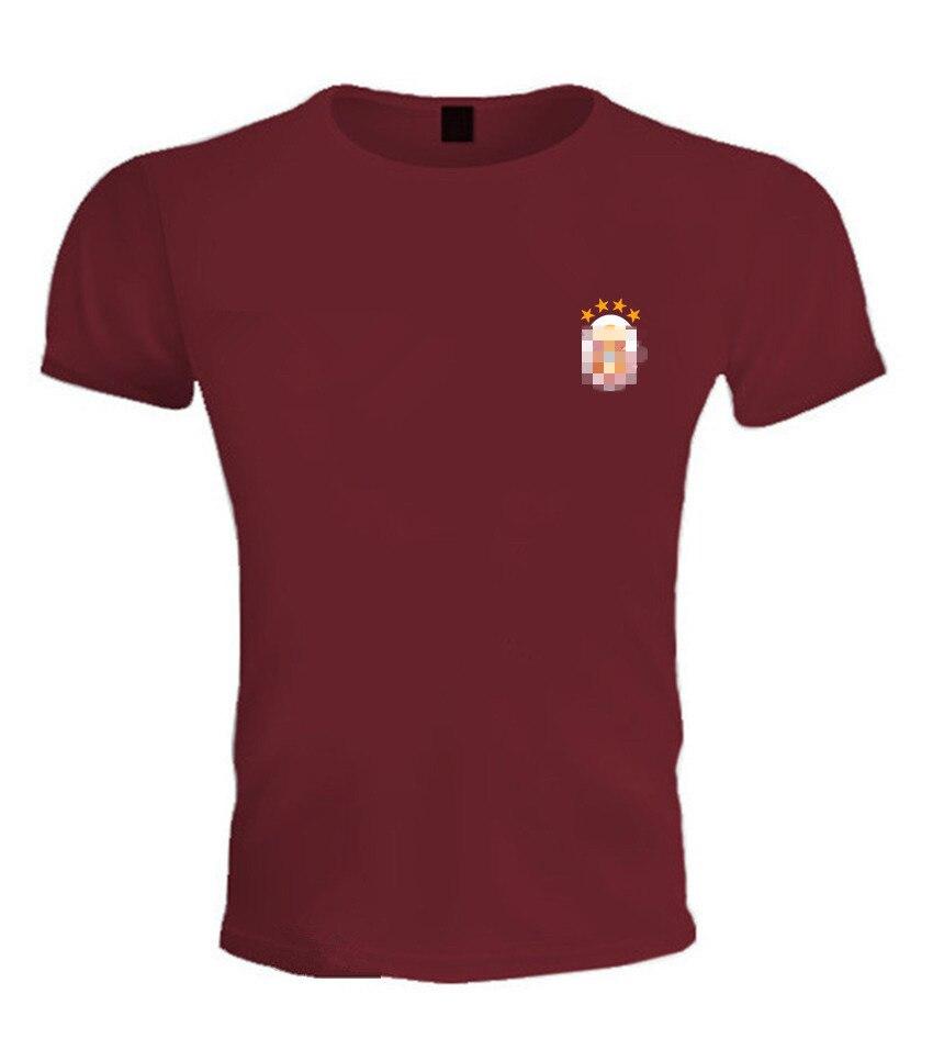 T-shirt-Wine red