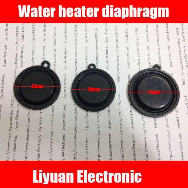 100 pcs aquecedor de Água bomba de diafragma/filme de pressão aquecedor de água A Gás/água válvula de diafragma pele 45 50 54mm