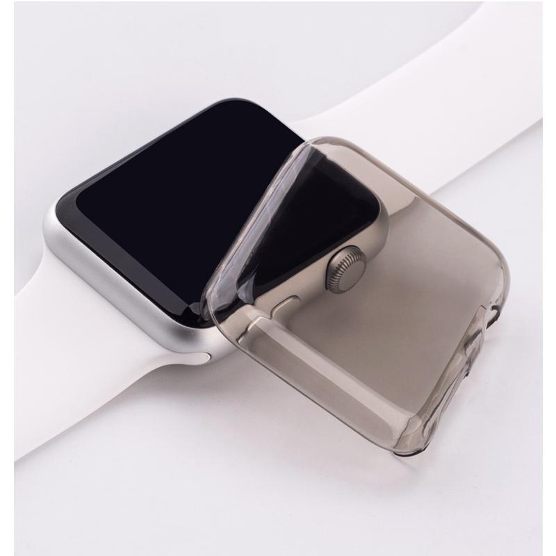 хохлатая рамка пк чехол для Apple, часы 42 мм 38 мм группа часы 3 2 1 защитный экран протектор защитная обшивке