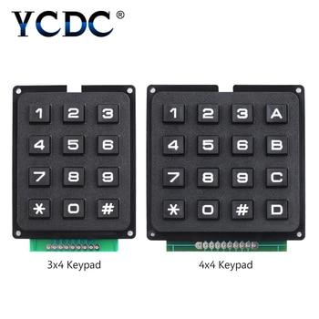 3x4 4x4 matriz 12/16 teclado módulo 16 botones tablero Arduino programa Control de señal Arduino alta calidad