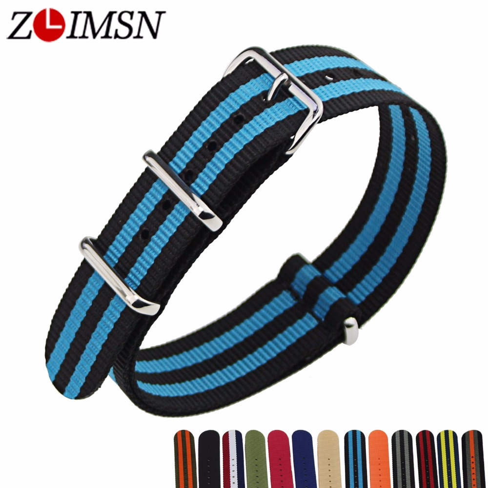 ZLIMSN 10pcs/lot Nato Nylon Watchbands Watch Belt Silver Metal Buckle Watch Strap Relojes Hombre 2017 18 20 22 24mm industrial computer 22 touch screen resolution 1680x1050 all in one pc with cpuintel i7 4790 2gb ddr3 500g hdd