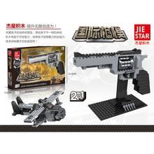 Hot selling Ausini SWAT Revolver Pistol GUN Weapon Arms Model Assembled Toy Brick Building Blocks Sets Weapon