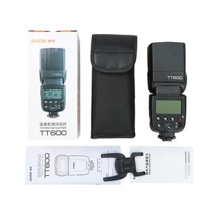 Image 5 - Godox TT600 2.4G HSS GN60 מאסטר Slave מצלמה פלאש עבור Canon Nikon Pentax אולימפוס Fujifilm סמסונג Lumix Panasonic מצלמה