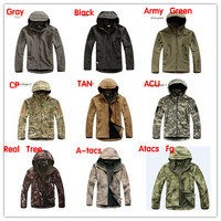 Lurker Shark Skin Soft Shell V4 Outdoor Military Tactical Jacket Men Waterproof Windproof Sport Camouflage Hunting