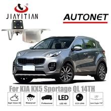 Câmera Retrovisor Para kia KX5 JiaYiTian kx5 para kia Sportage QL MK4 2015 ~ 2018 Reverso Da Câmera CCD de Visão Noturna placa de licença câmera