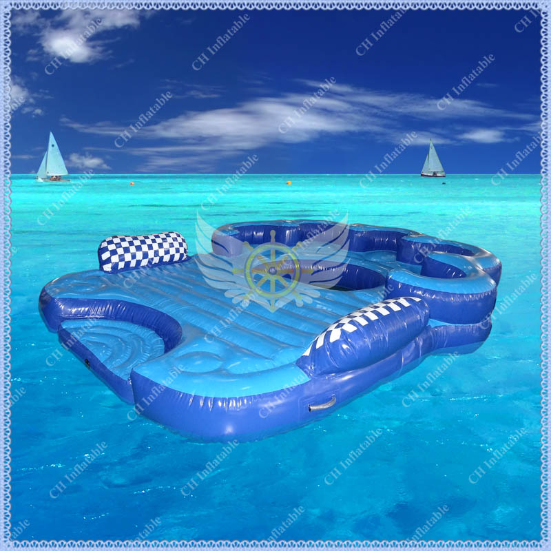 Compare prices on inflatable island online shopping buy for Cheap inflatable pool