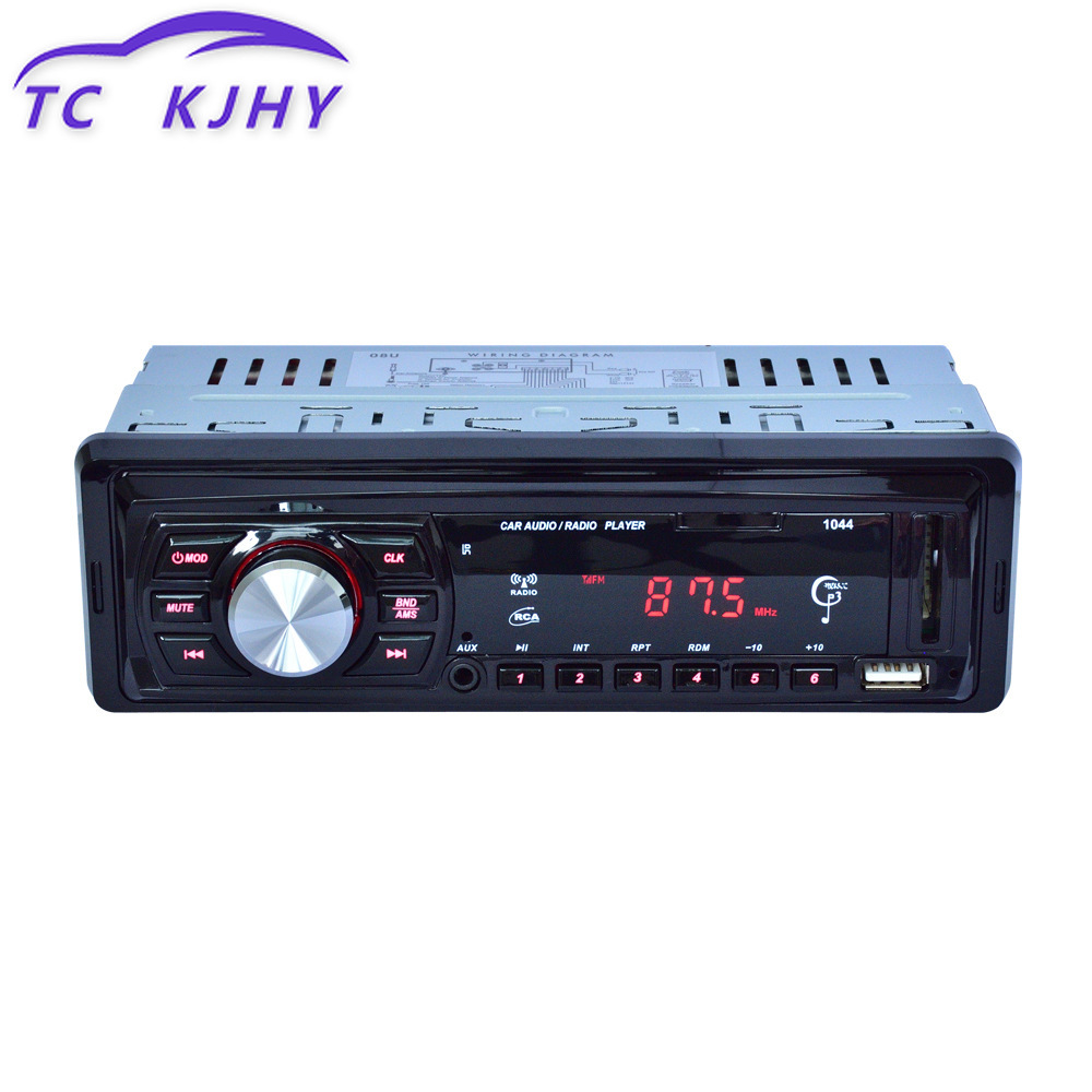 Truck Carrying Card Jack 12 VU Machine MP3 Player Radio BluetoothDecoders Audio Adapter Stereo Wireless Receiver TF DIY