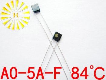 100% Original A0-5A-F 84 degree Thermal Cutoff RH84 Thermal-Links 5A 250V Black Square Temperature Fuse x 500PCS