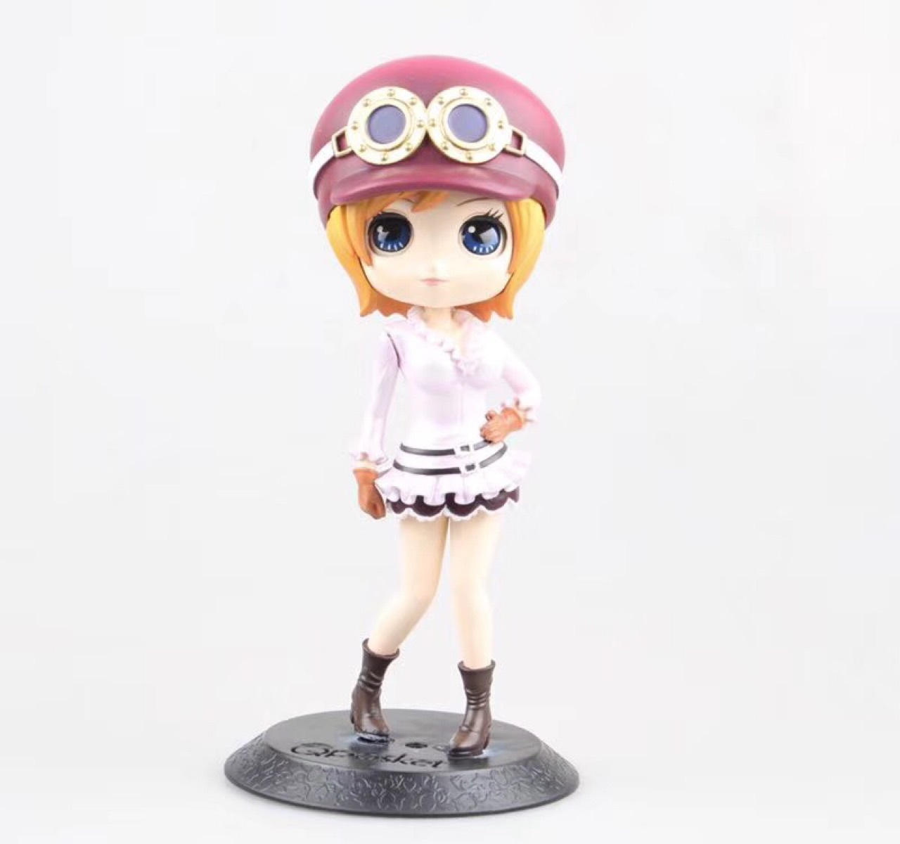 QPosket Cute Big eyes Anime One Piece Nami & Koala Lovely Dolls Figure Model Toys 14cm for girl