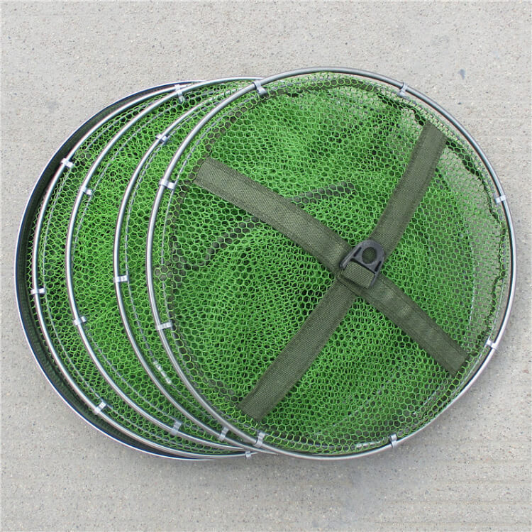 1pcs Fishing Table Net Cage Crab Fish Crawdad Shrimp Bait Trap Cast Dip Case 1.5m 2m 2.5m Length durable useful All Position
