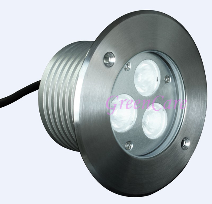 ФОТО High Quality 8pcs/lot 3W Recessed LED Inground Light IP67 Underground Light LED Uplight for sale DC24V 304 stainless steel