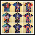 Harajuku verão syle mulheres / homens Michael Jackson impresso 3d camiseta Punk camisetas t Tops